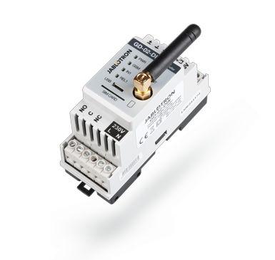 Diaľkové ovládanie GSM na DIN lištu